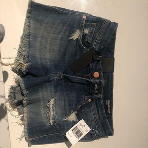 Blank NYC Shorts - Denim shorts distressed